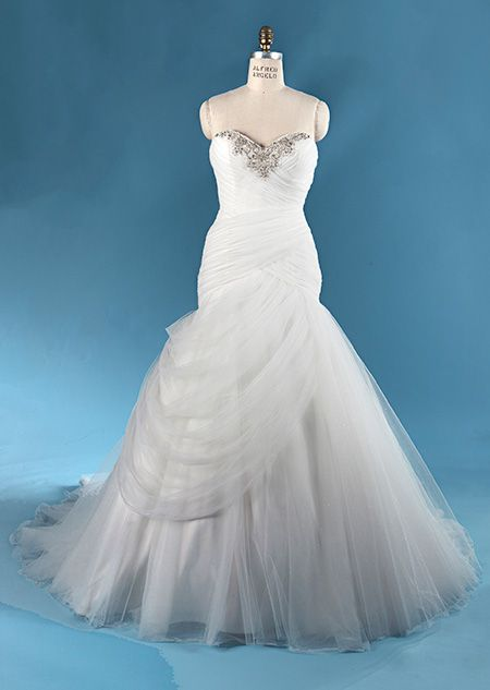 The Disney S Jasmine Wedding Gown From Alfred Angelo Bridal Collection