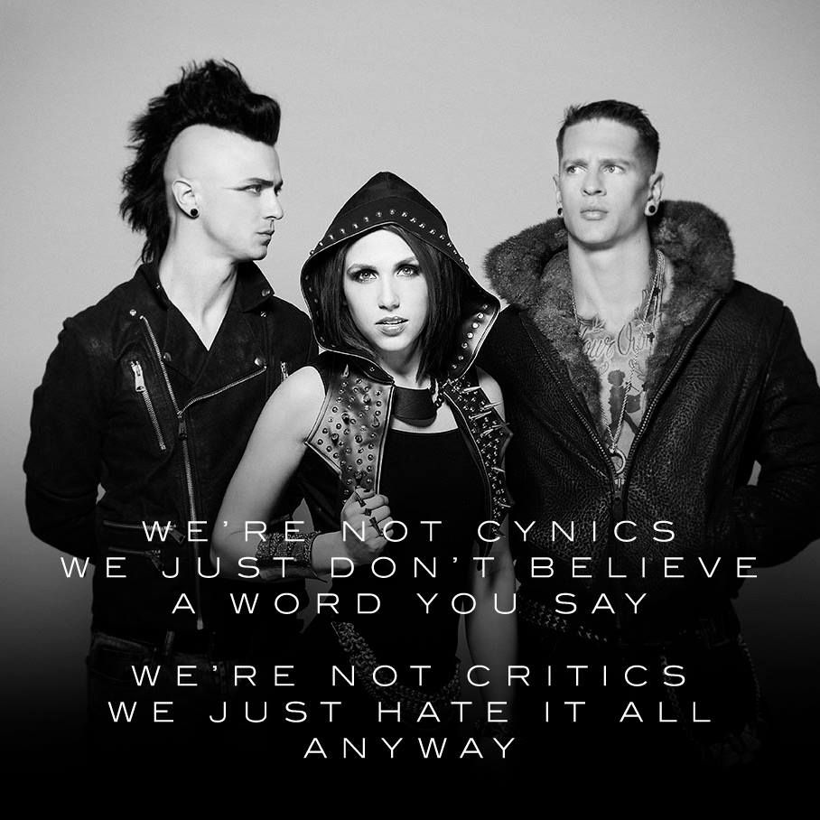 Cynics & Critics - Icon Hire Lyrically Speaking Music Bands Artists