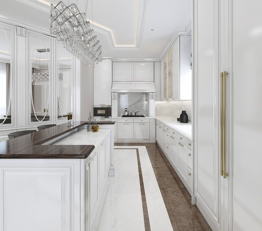 Best 35 Beautiful White Kitchen Designs With Pictures White 400 x 300