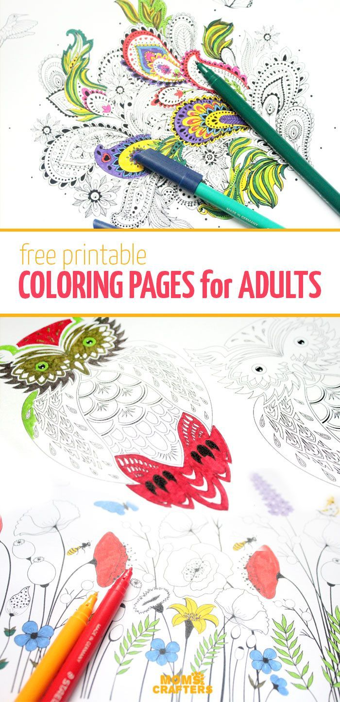 for free adult coloring pages! There's nothing as relaxing as these complex free printable coloring pages for adults! They are so meditative - and you can download them for free!There's nothing as relaxing as these complex free printable coloring pages for adults! They are so meditative - and you can download them for free!