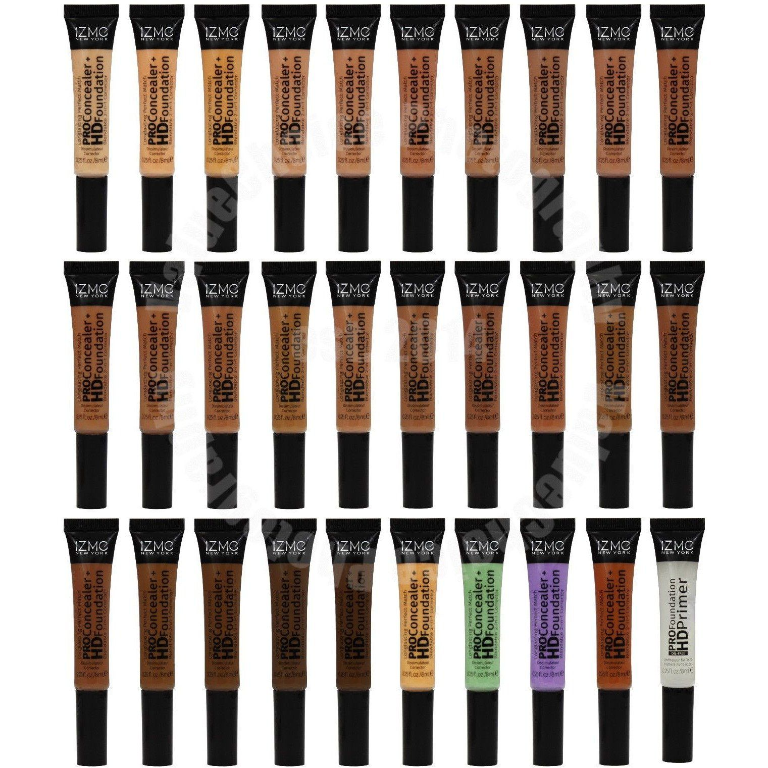 2 in 1 PRO Concealer + HD Foundation by iZme New York