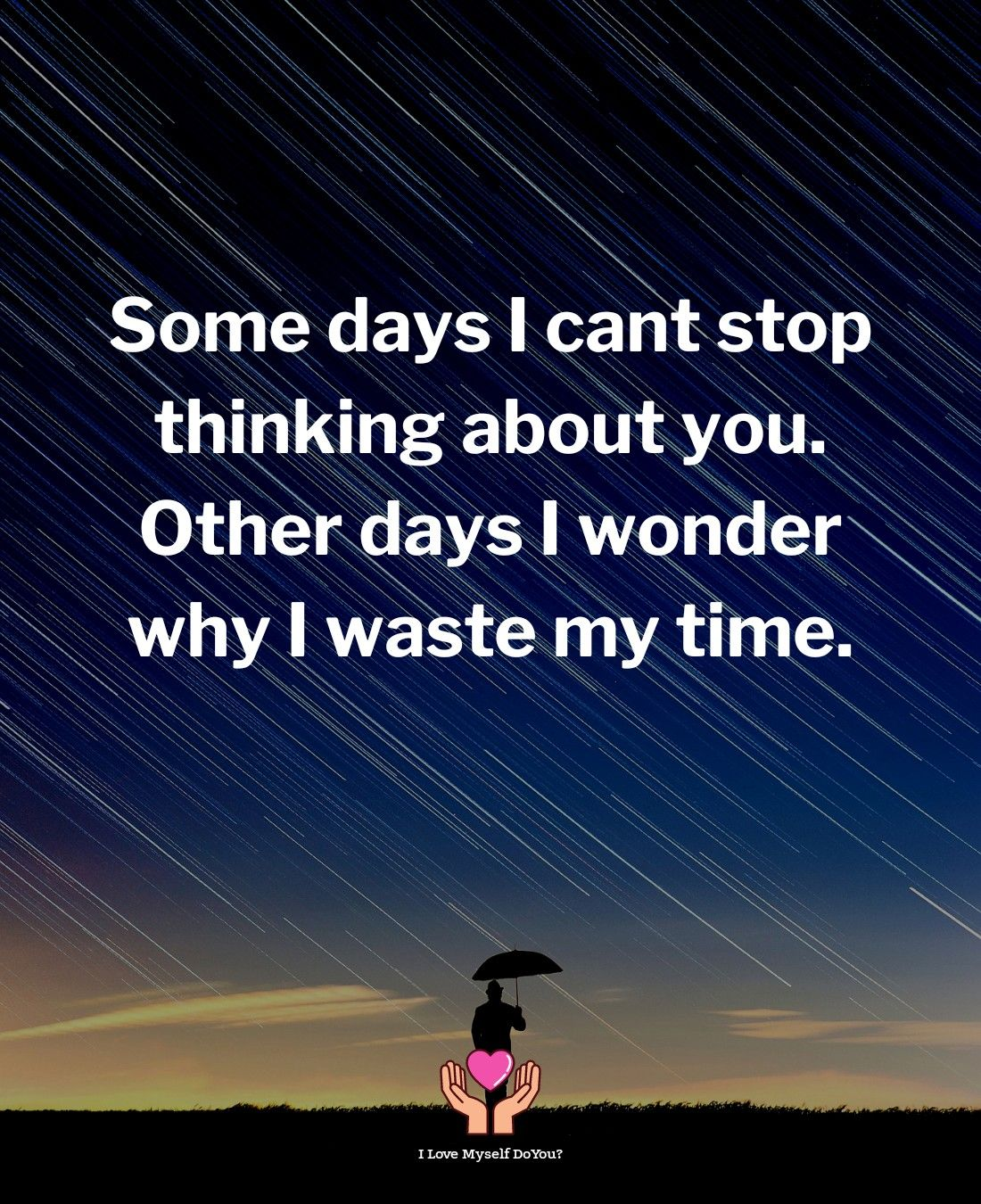 Some days I can't stop thinking about you.   Quotes deep, Cant ...