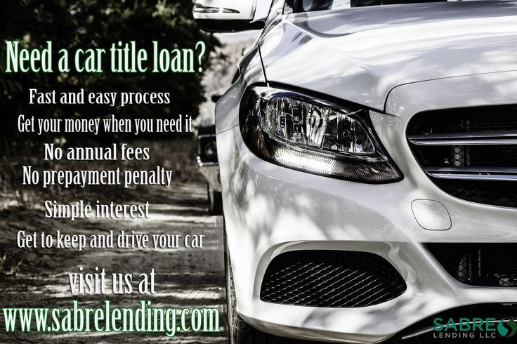 car title loans califorina Easy Car title loans at Sabre