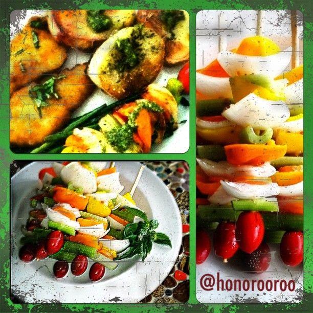 Summer Grilling#foodpics#foodporn#igershi#instafood #instagood #ilovefood#dinner - @honorooroo- #webstagram