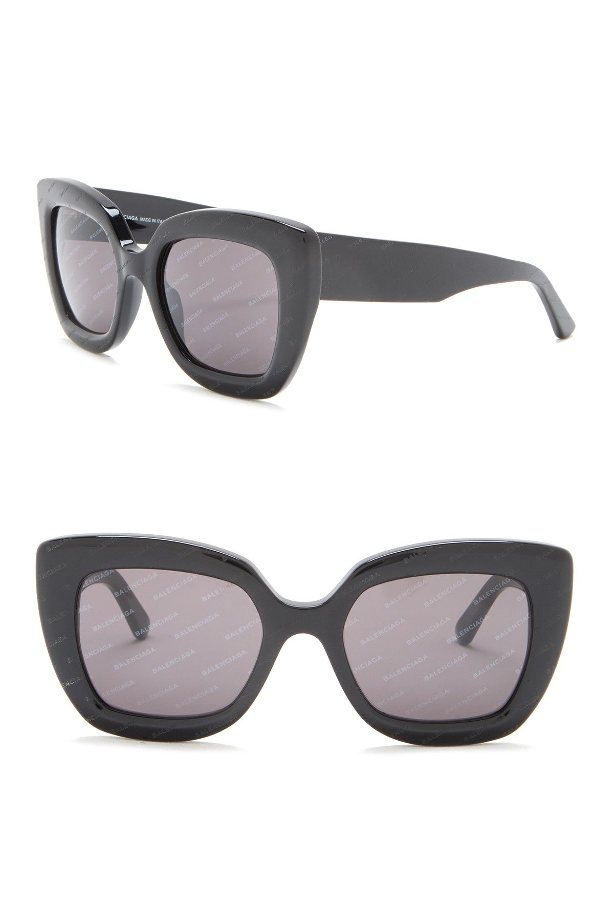Balenciaga   52mm Oversized Sunglasses