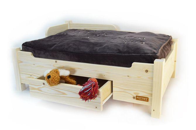 hundebett hundesofa pf tchen 80x55cm kissen von momente in holz auf barney. Black Bedroom Furniture Sets. Home Design Ideas