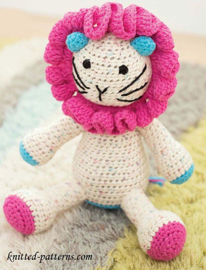 Lion Amigurumi - Free English Pattern | amigurumi | Pinterest ...
