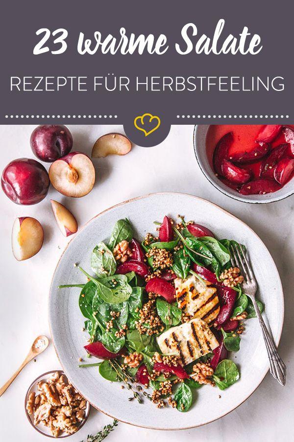 23 warme Salate mit Wohlfühlfaktor #herbstbacken
