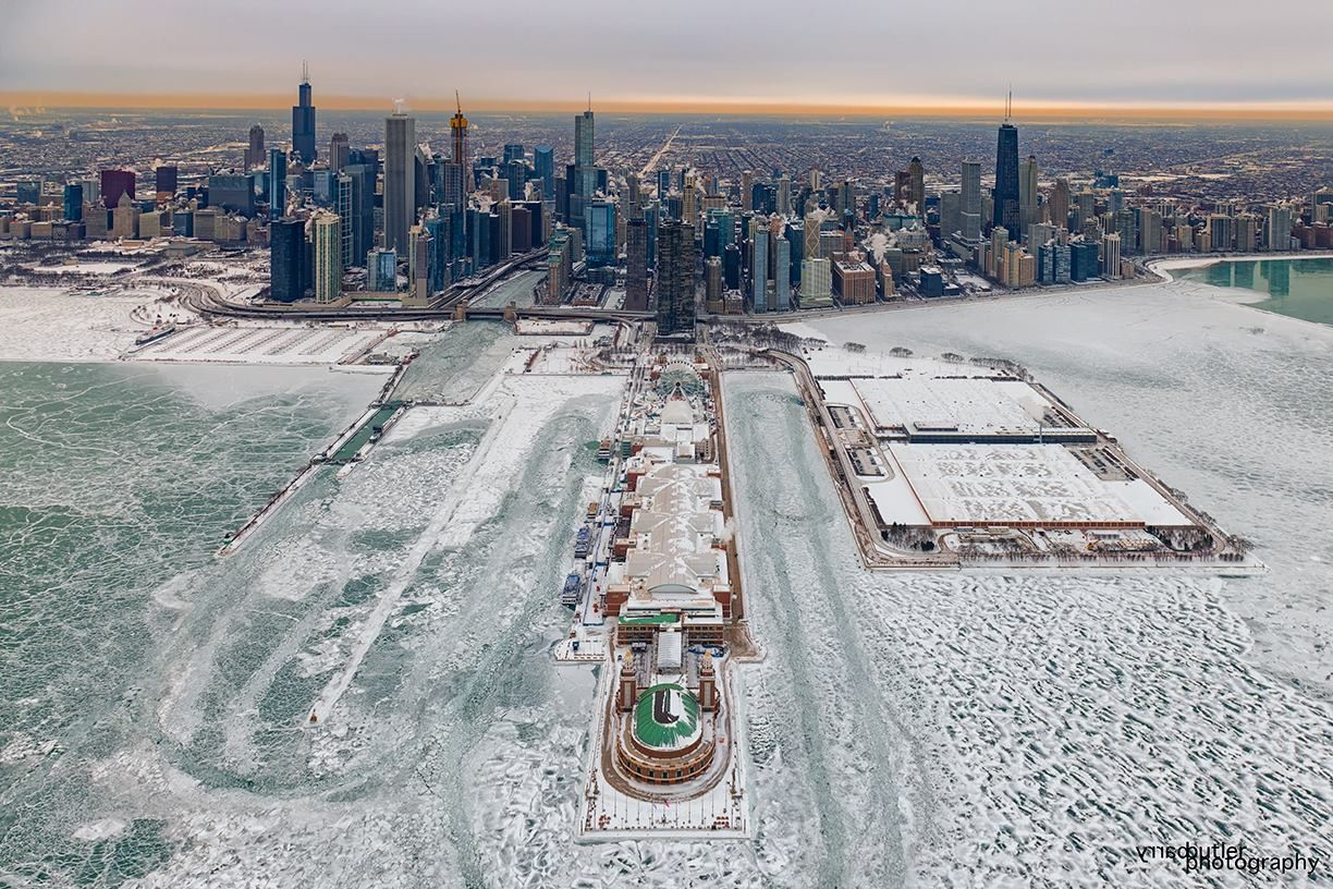 Chicago Winter January 2019 Chicago City Photo Chicago Skyline