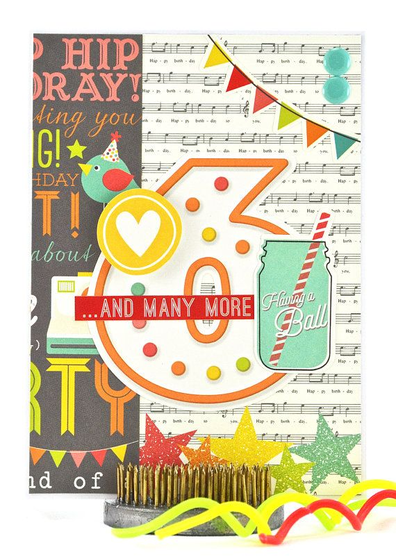 Girls Birthday Card 6th Birthday Card Happy Sixth Birthday
