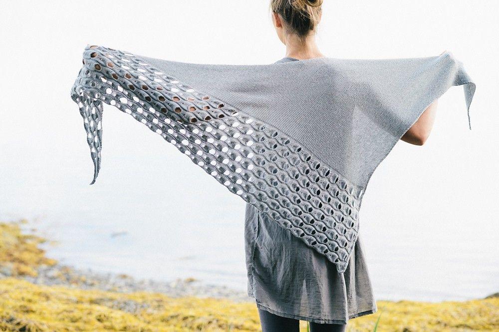 Melanie Berg Open Waters Shawl Kit   knit On   Pinterest   Stricken ...
