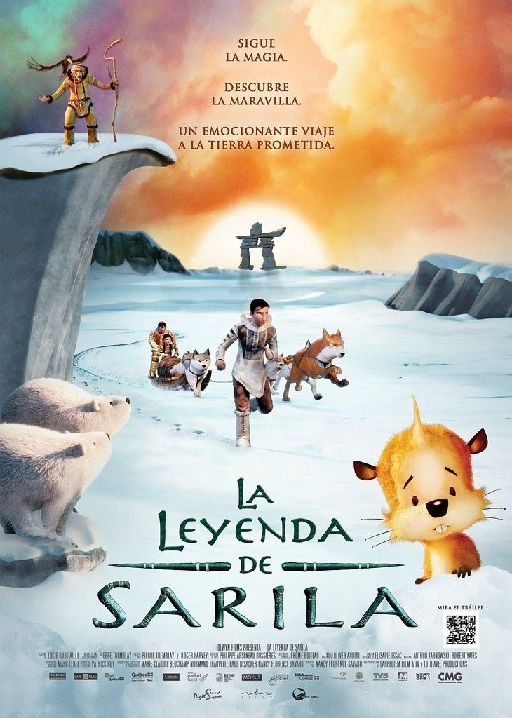 "La leyenda de Sarila (2013) ""The Legend of Sarila"" de"