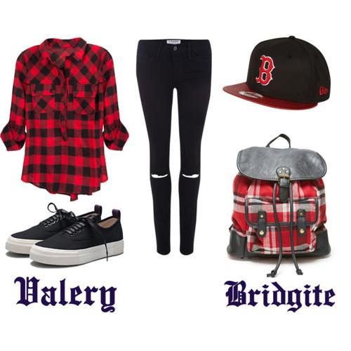 SWAG - Polyvore street style -  #valery bridgite -  #perfect  snapback cap -  #fashion
