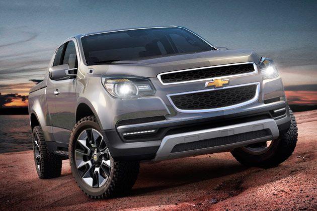 Gm Unveils Next Gen Chevrolet Colorado Ahead Of Bangkok Debut