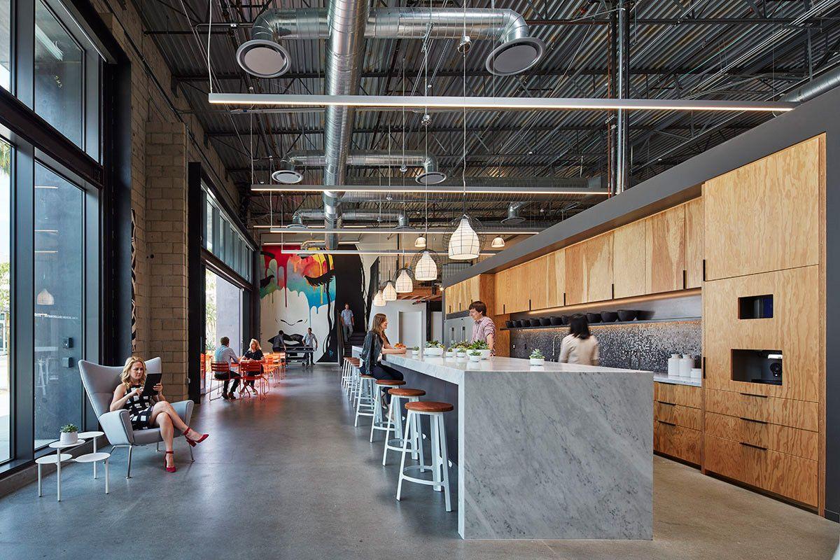 Office Tour Retail Design Collaborative Offices Long Beach