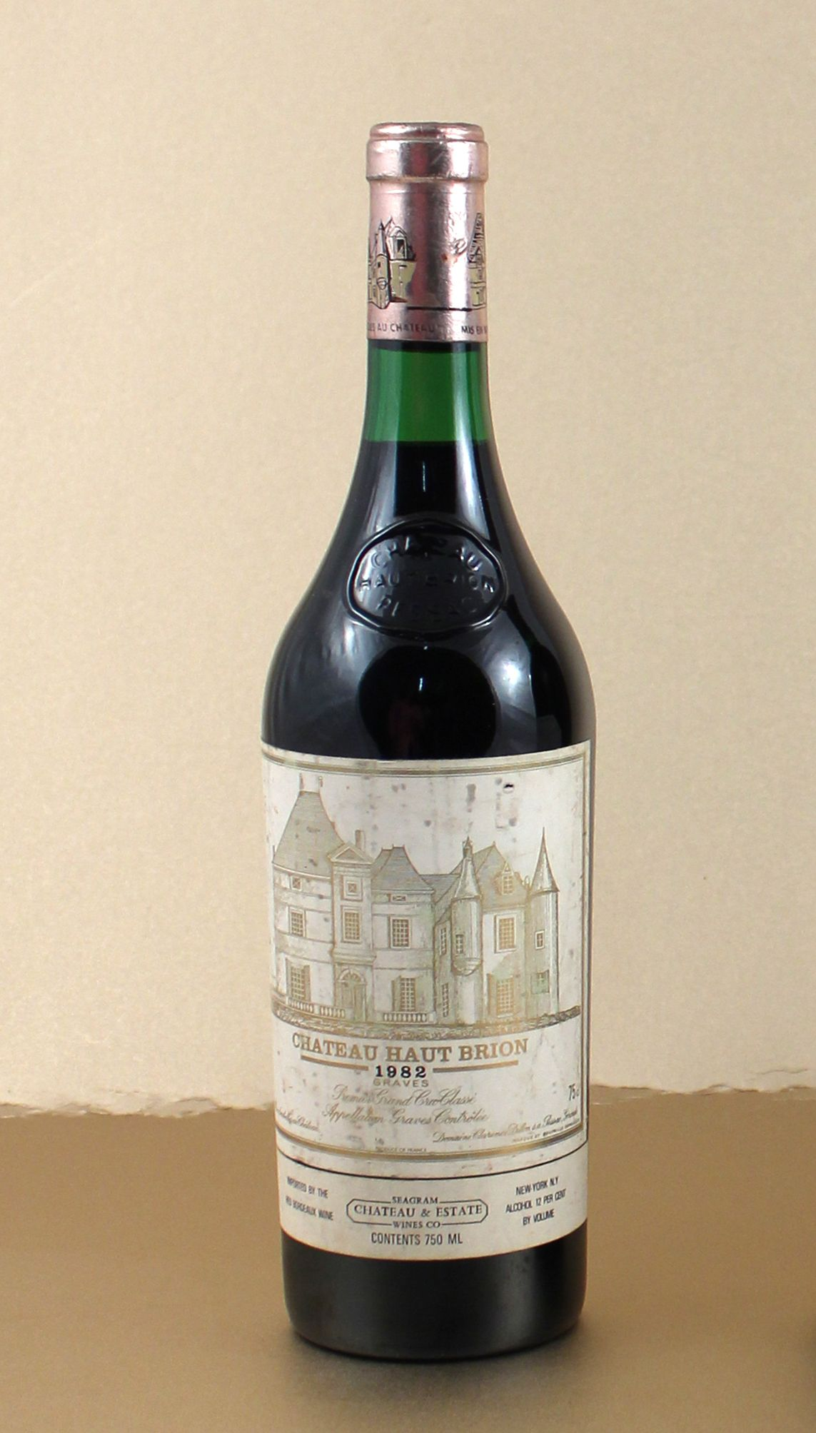 Lot 2 1 X Chateau Haut Brion 1982 750ml France Wine Wine And