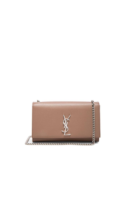 30b2306f535 Image 1 of Saint Laurent Medium Monogram Kate Chain Bag in Fard ...