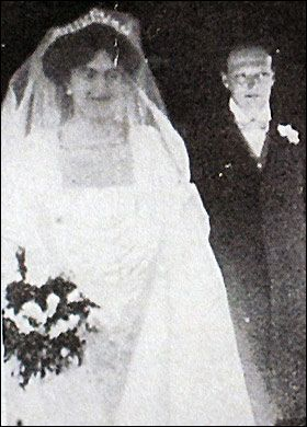 1908 Wedding Of One Of Britain S Most Famous Men Sir
