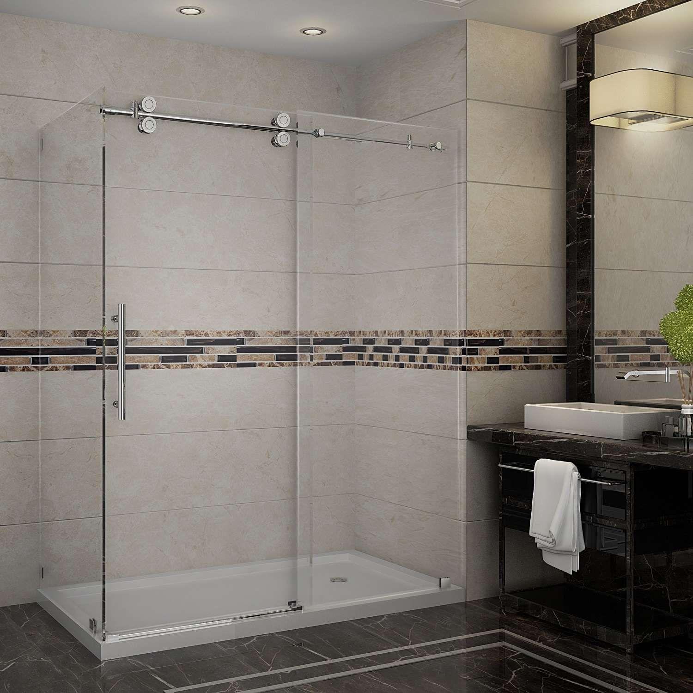 Sen979 Tr Ch 60 10 R By Aston Global Showers Goedeker S Shower Doors Sliding Shower Door Frameless Shower Enclosures