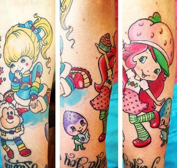 Rainbow Bright And Strawberry Shortcake Were My Favorite When I Was