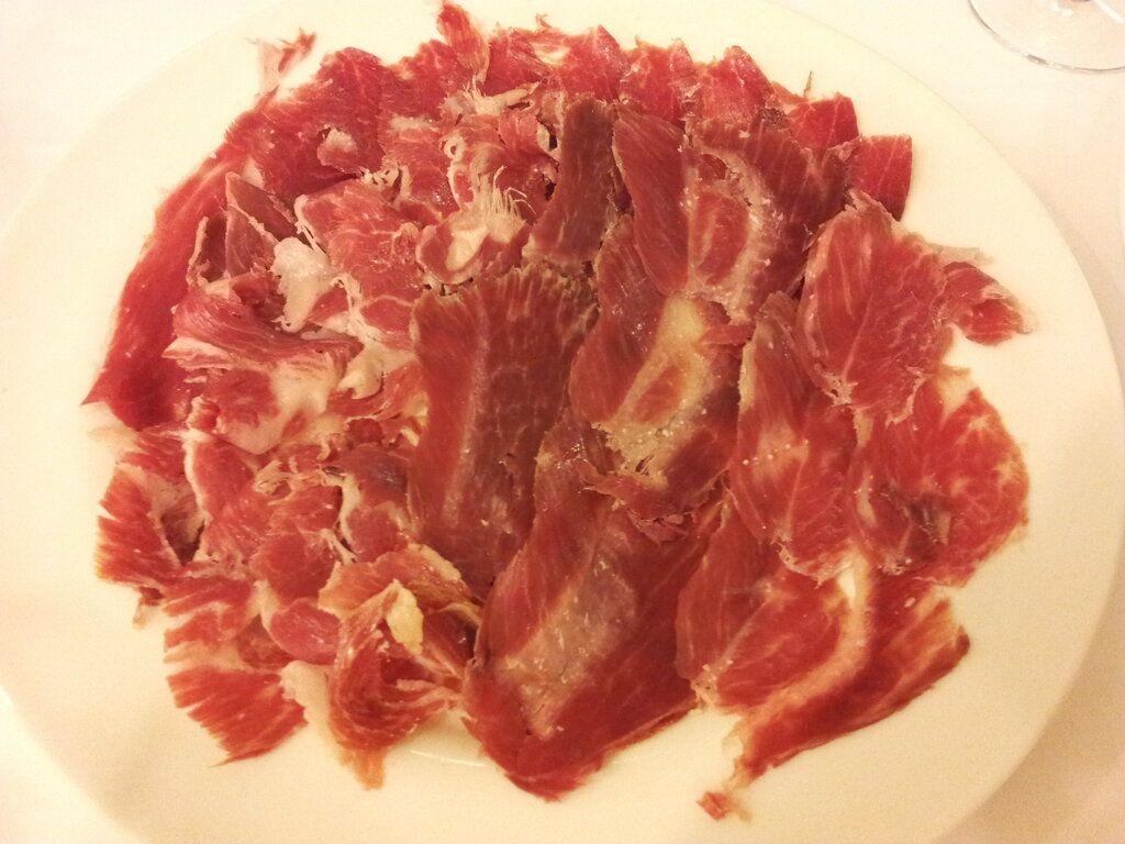 Imposible renunciar a este plato de paleta de Joselito.... Twitter / Notodohoteles: Si te alojas en el #hotel ...