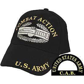 16f8a63d EMBROIDERED US ARMY COMBAT ACTION CAB BASEBALL CAP in Collectibles,  Militaria, Surplus | eBay