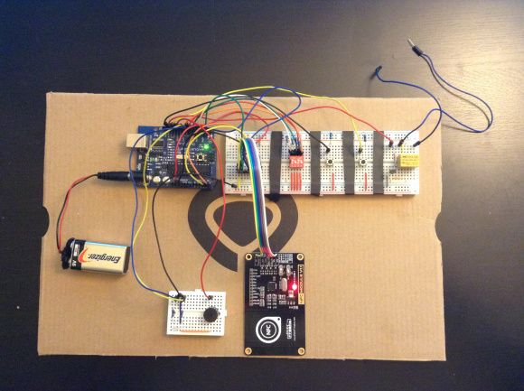 Upgrade Your Garage Door With Arduino And Rfid Arduino Access Control Arduino Projects