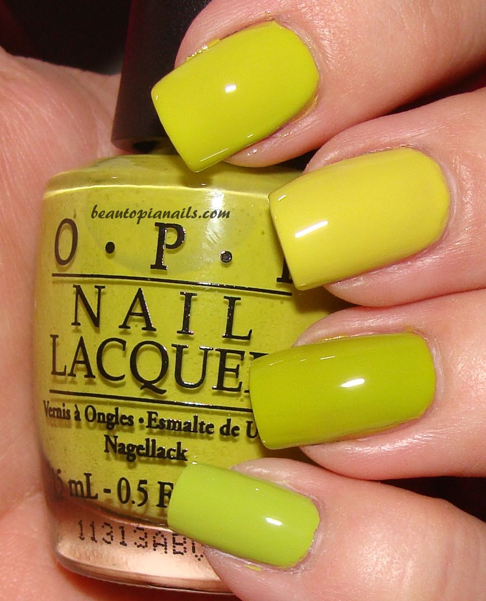 Opi Nicki Minaj Did It On Em Swatches And Comparisons With