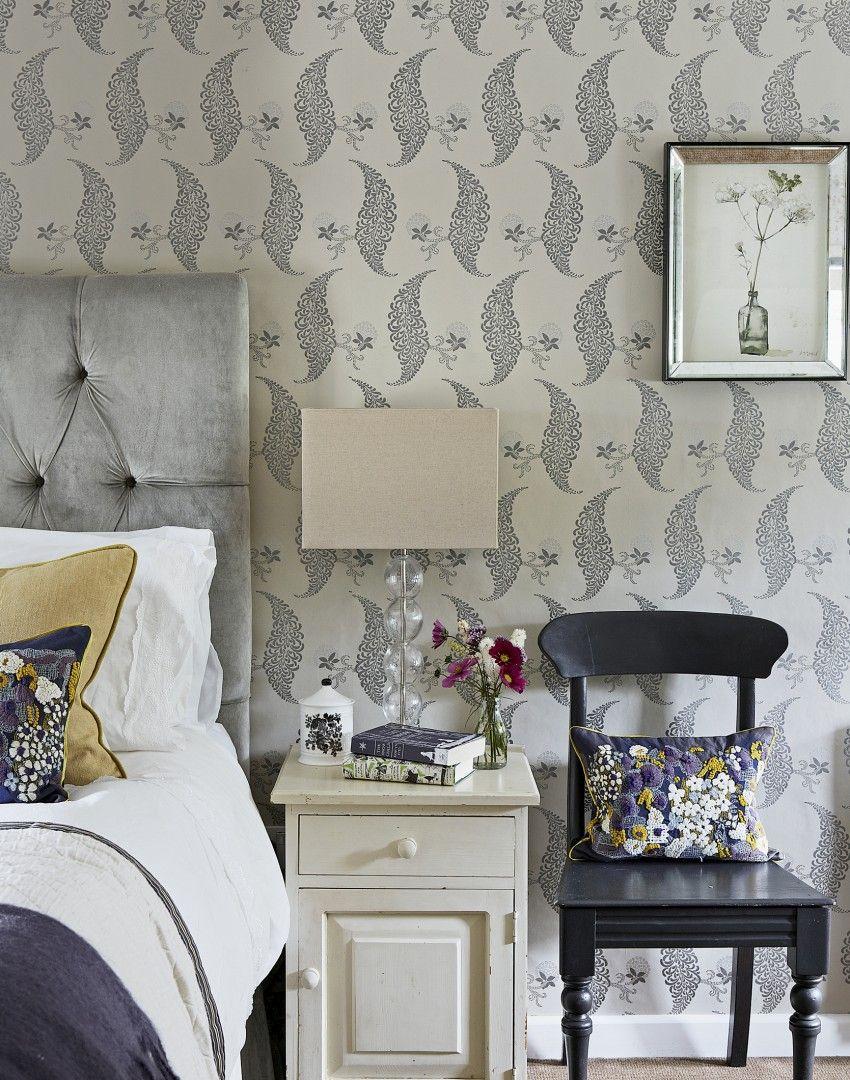 Traditional Elegant Grey Bedroom Bedroom Pinterest