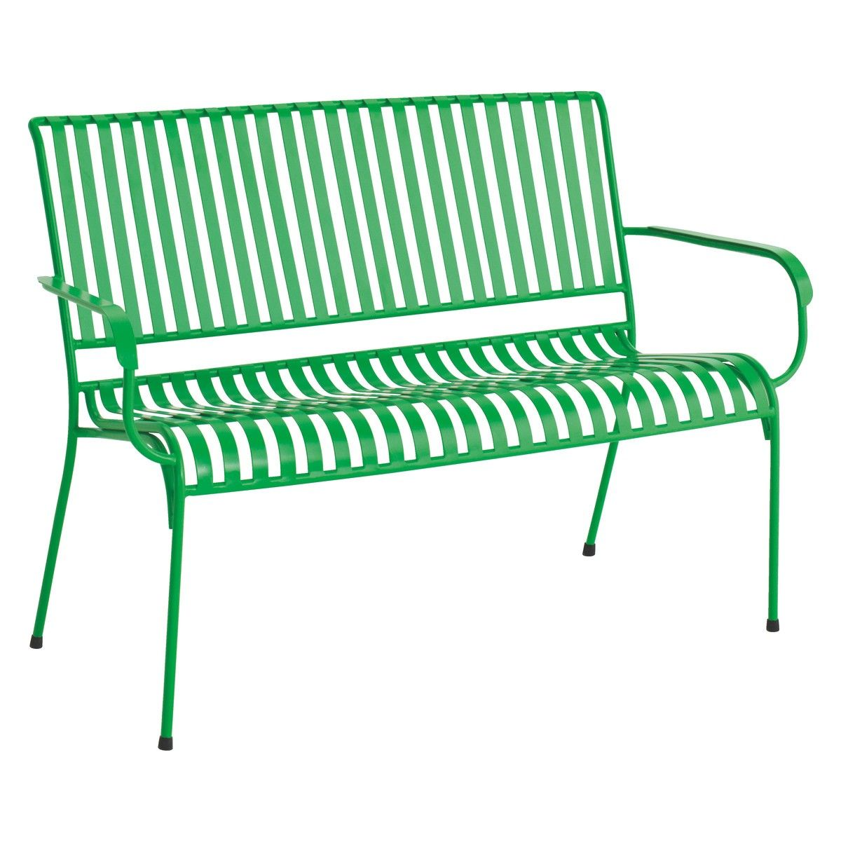 Stupendous Indu Green Metal Garden Bench Buy Now At Habitat Uk Bralicious Painted Fabric Chair Ideas Braliciousco