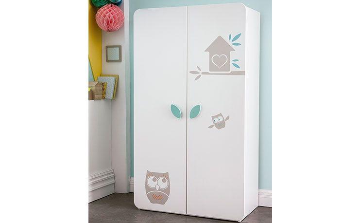 Compra este armario ropero para bebé con detalle búho a un precio ...