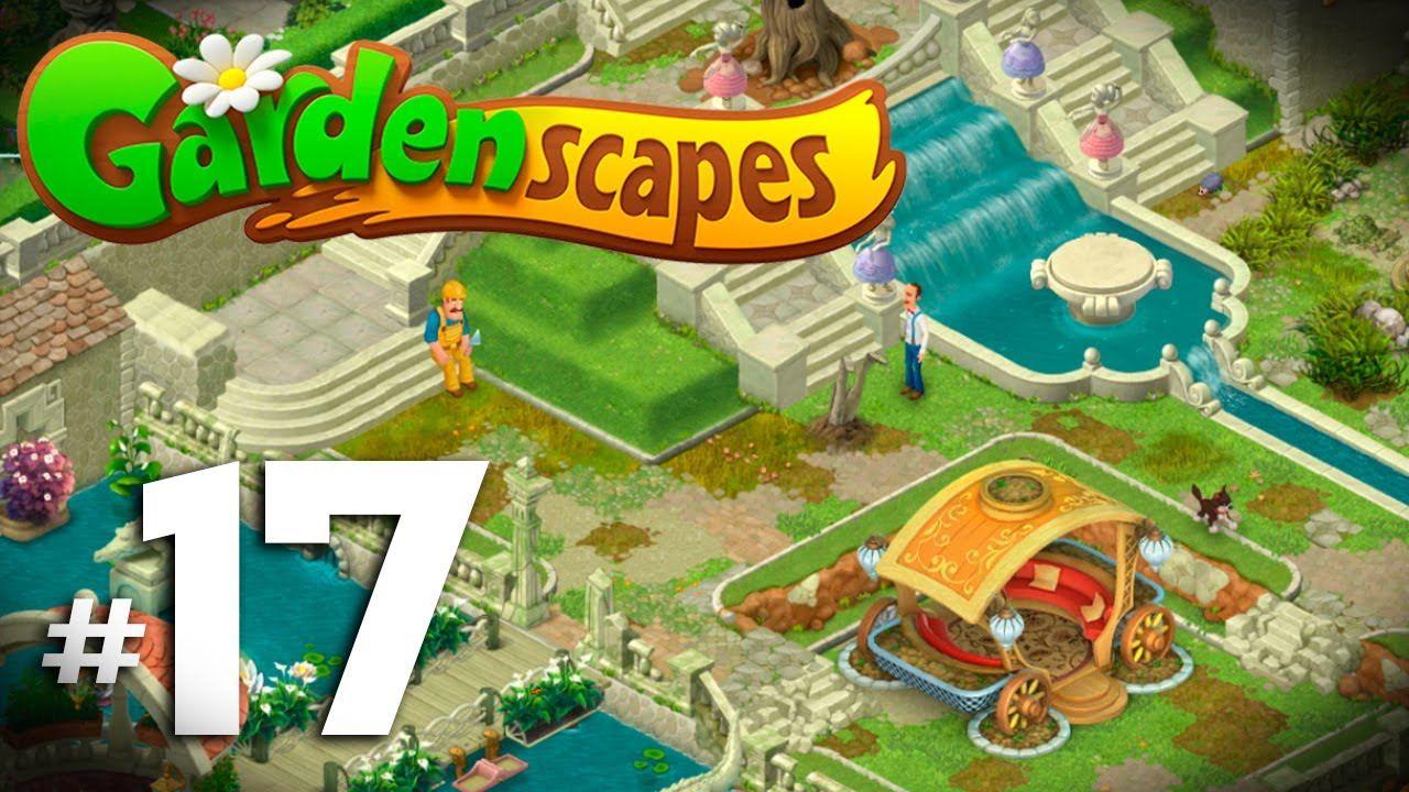 Gardenscapes New Acres 17 Nivel 1225 1250 Carruaje Restaurado Gardenscapes New
