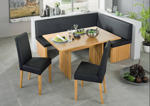 Corner Dining Bench  Modern Corner Dining Table  Decorating Awesome Corner Dining Room Furniture Decorating Inspiration