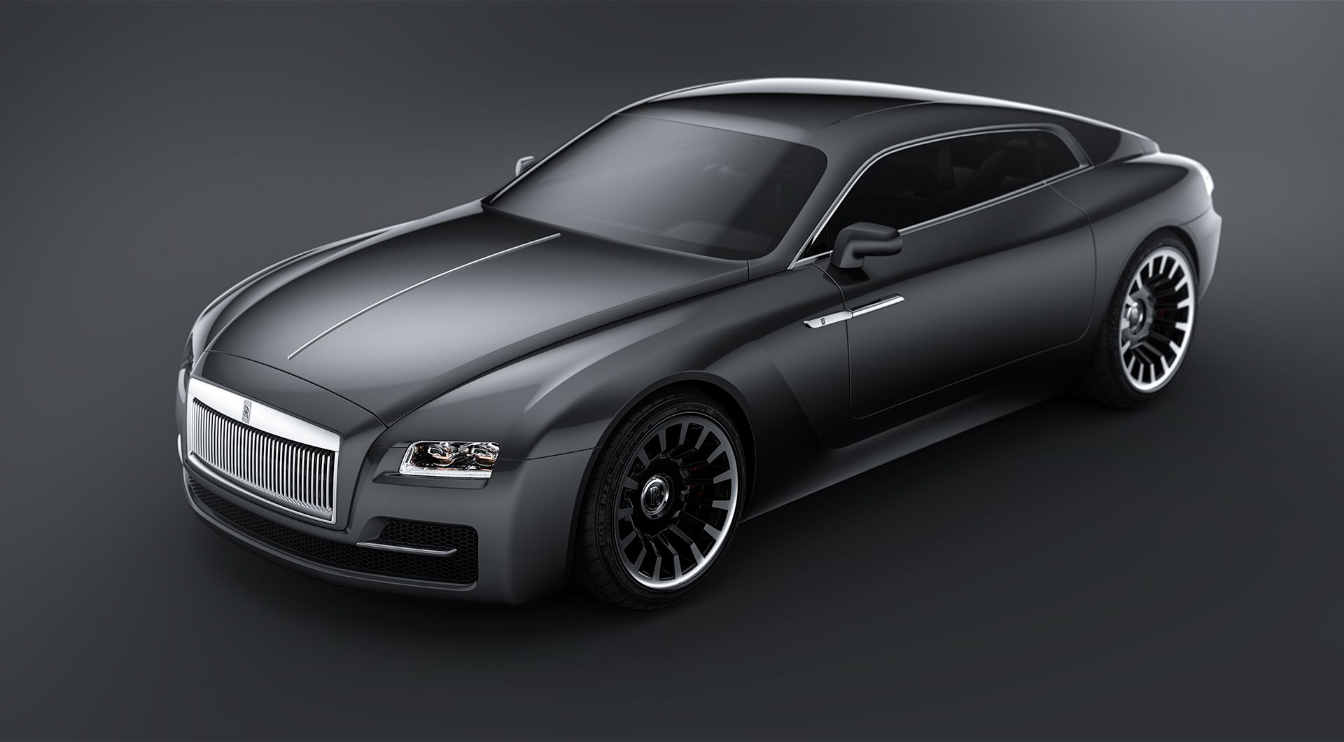 Rolls-Royce coupe is a luxury car specially designed for the police