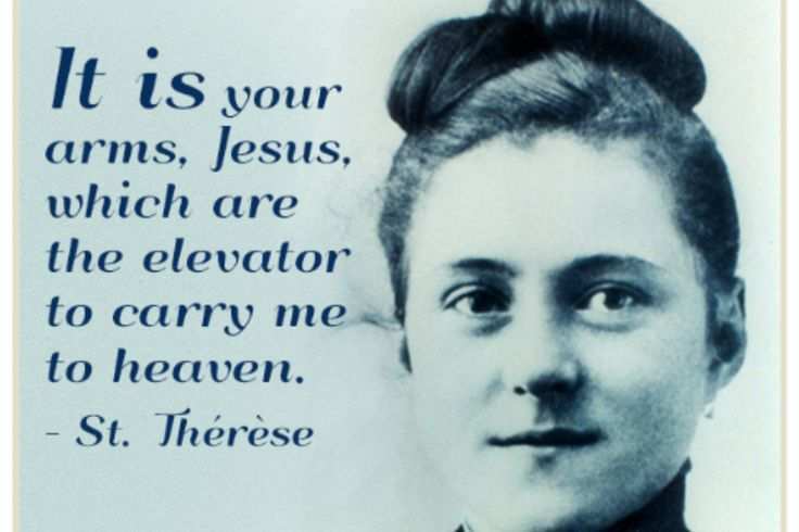St Therese Quotes On Prayer St Therese With Images Saint
