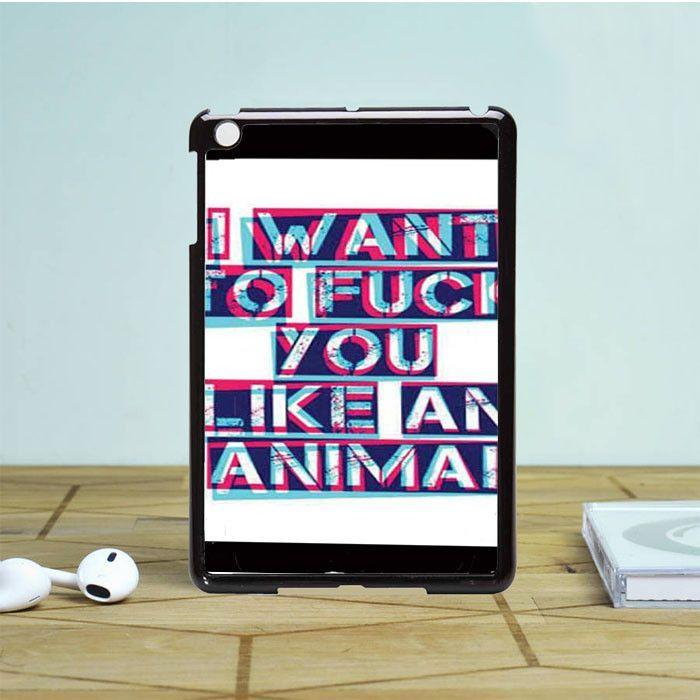 Nine Inch Nails Closer Lyrics iPad Mini 2 Case Dewantary | Products ...
