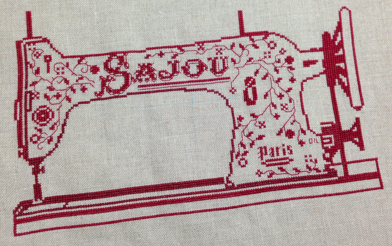 「SAJOU」sewing machine