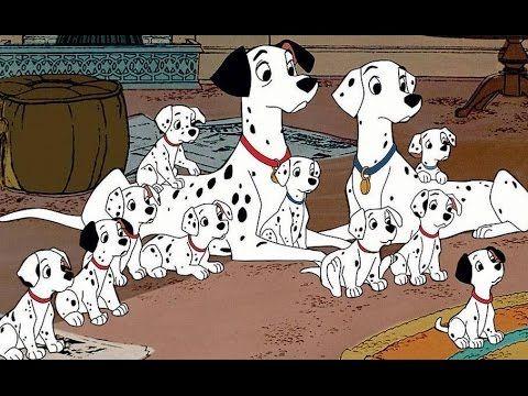 101 Dalmatas Desenhos Animados Em Portugues Completo Dublado 2015 Perros De Disney 101 Dalmatas Personajes Disney
