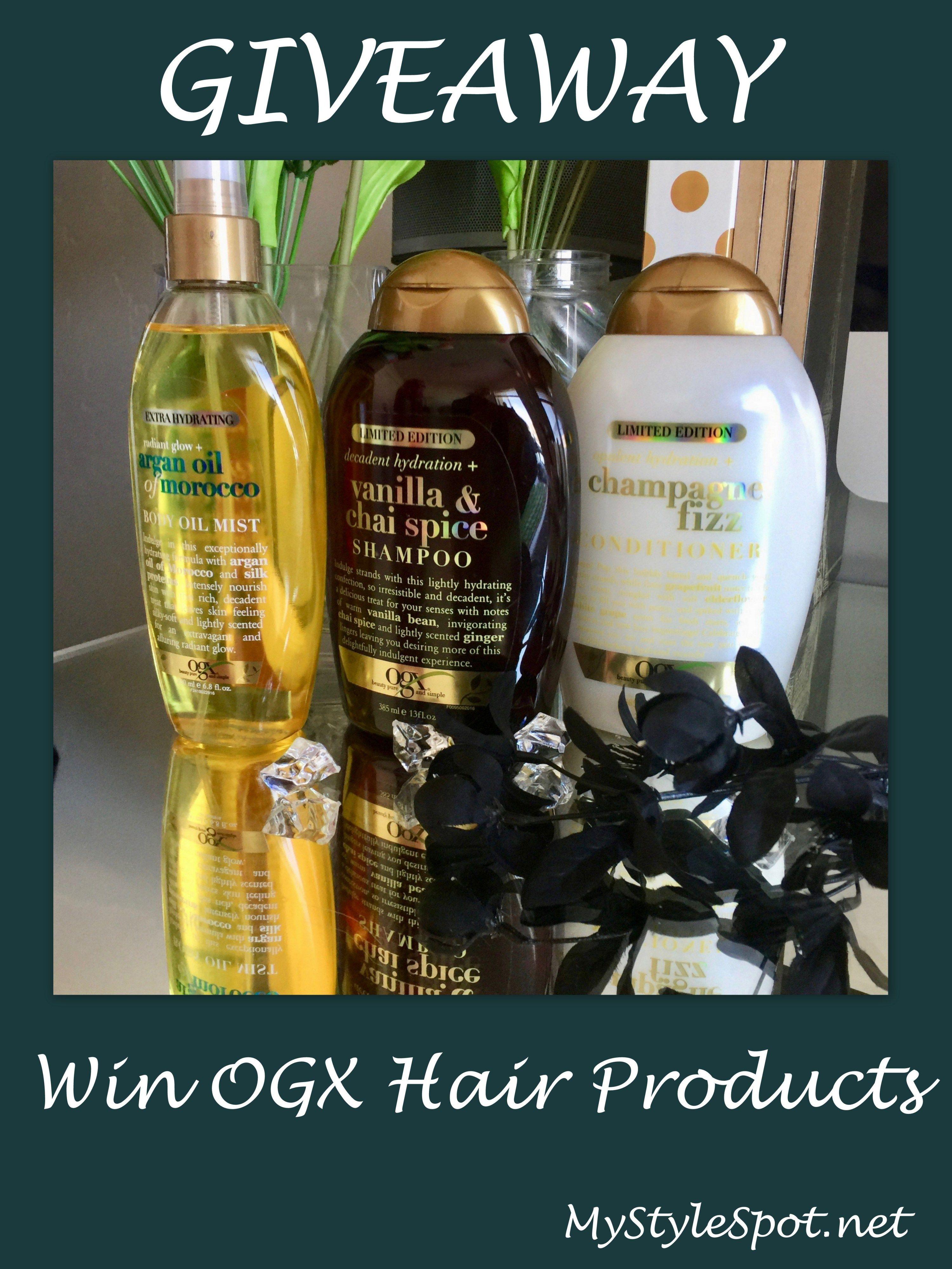 fbbb8e08fe GIVEAWAY  Win OGX Hair Products  OGXBeauty