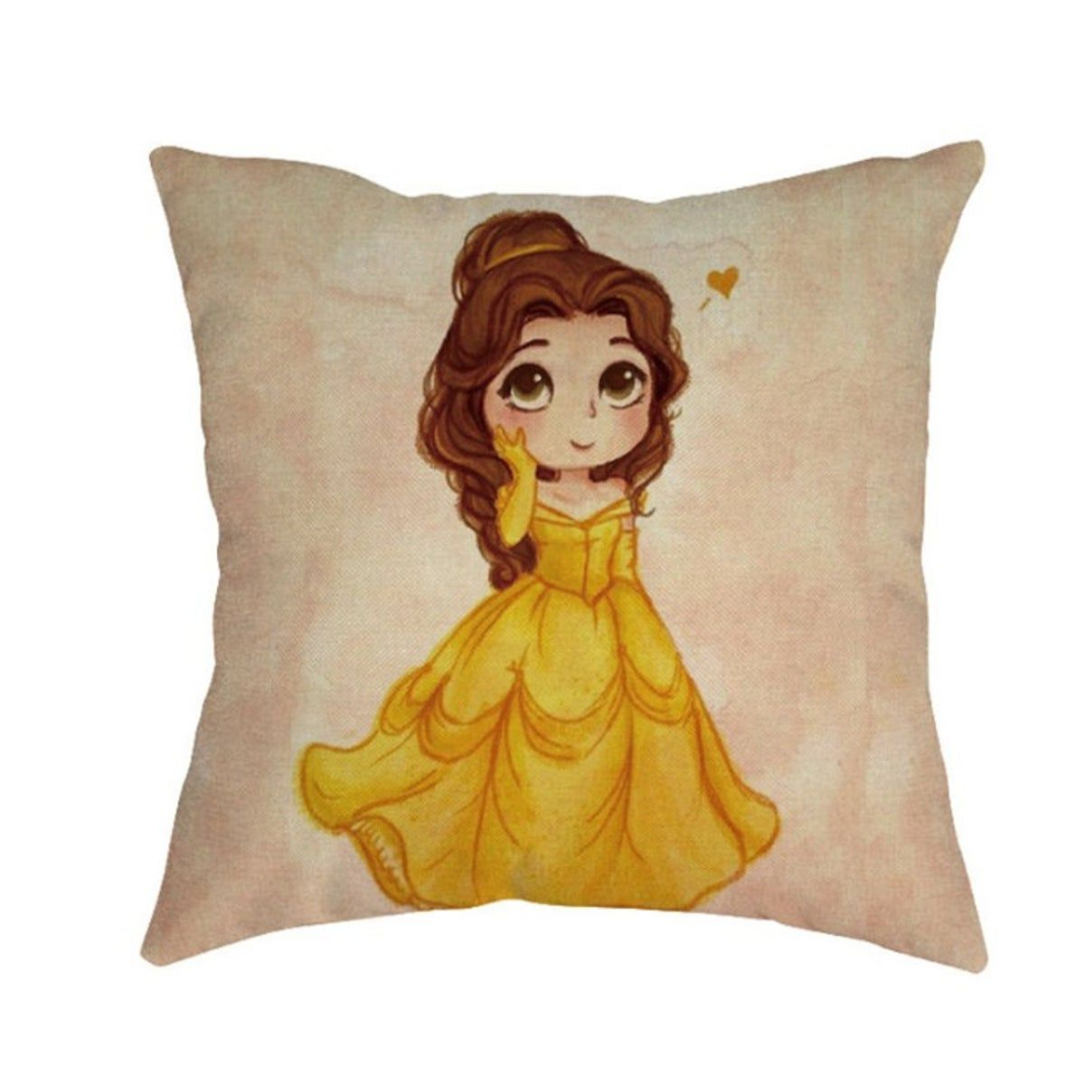 Princess Belle Beauty Amp The Beast Disney Disneyrooms Brand New Package Sealed Pillow Case Princess Cartoon Princess Pillow Disney Beauty And The Beast