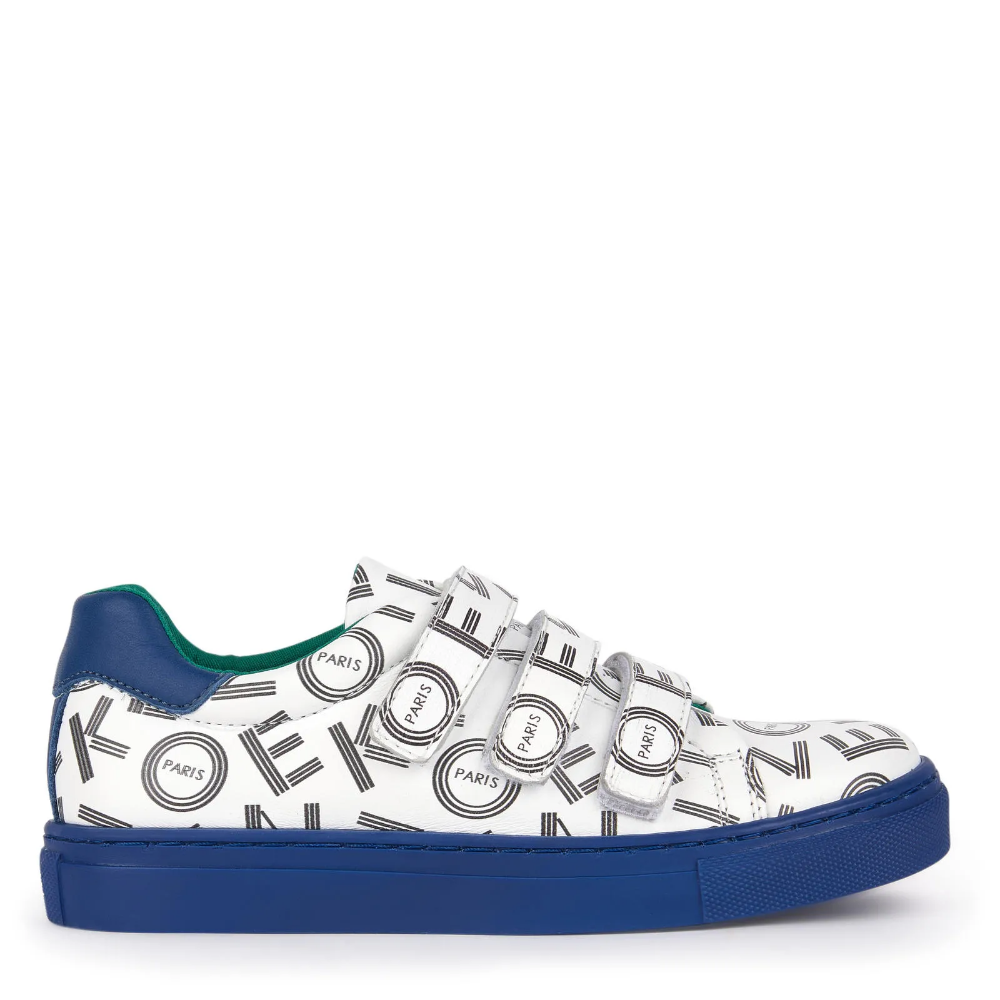 Sale - Logo leather sneakers - Japanese