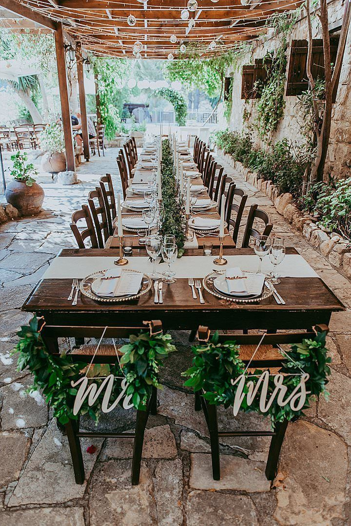 Jess and Toms Boho Themed Destination Wedding in Cyprus by Christodoulou Photography