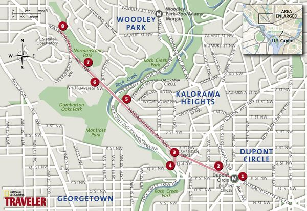 Embassy Row Dc Map Www Naturalrugs Store