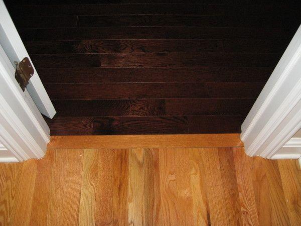 Hardwood Floor Transition Through Doorway Floors Pinterest