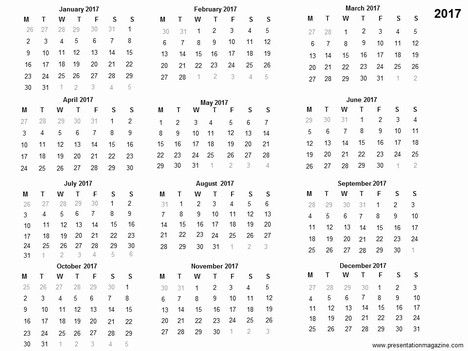 Calendar Printable Template  Planner    Printable