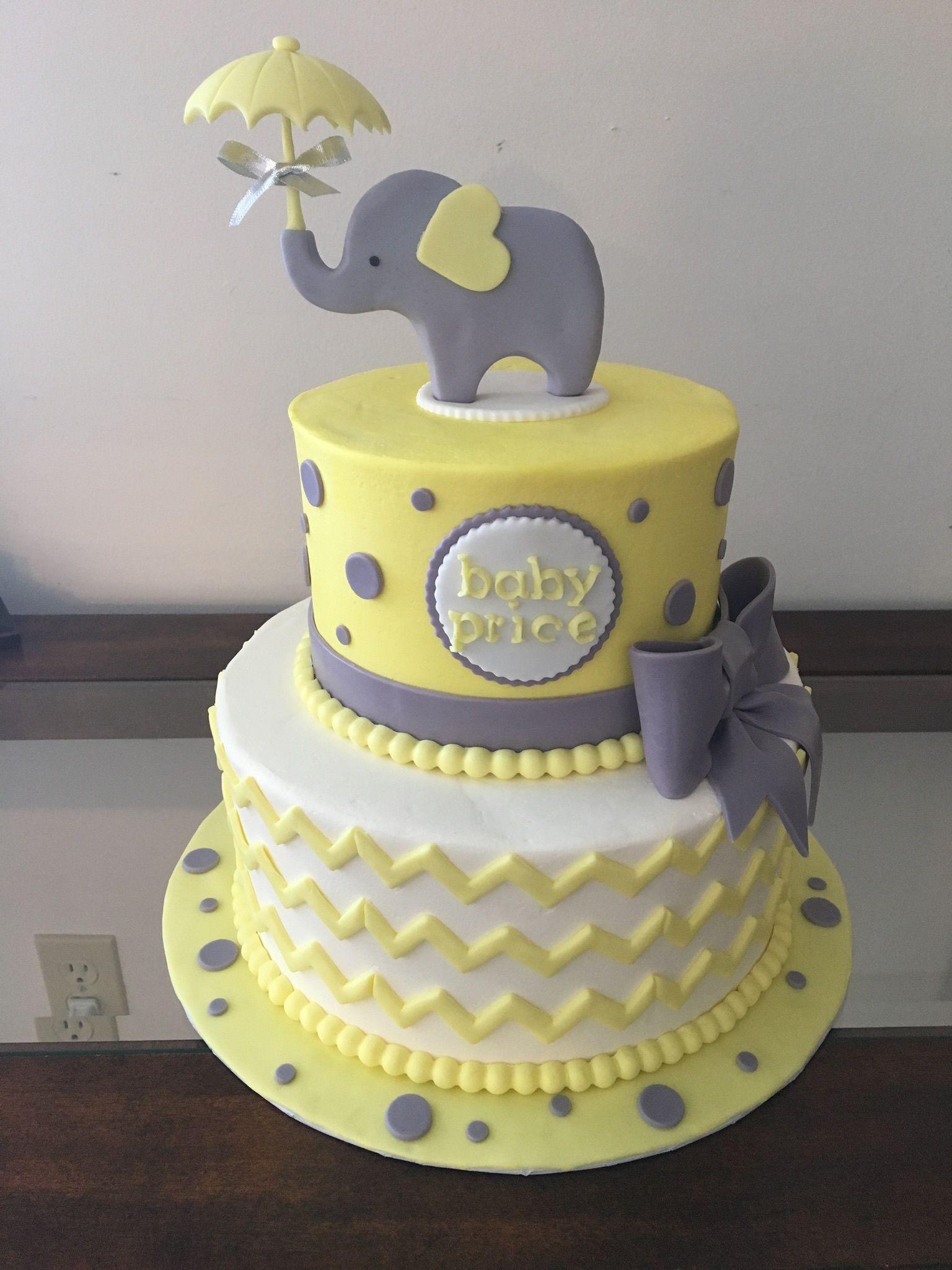 Elephant Baby Shower Sheet Cake : elephant, shower, sheet, Shower, Cakes, Cookies