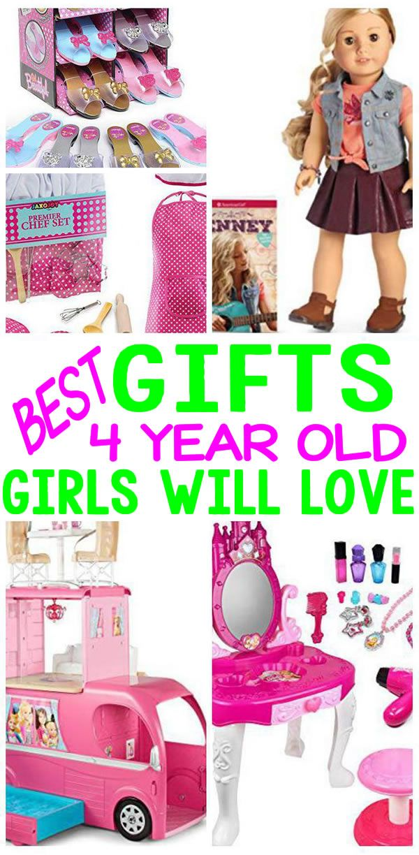 BEST Gifts 4 Year Old Girls Will Love | 4 year old ...