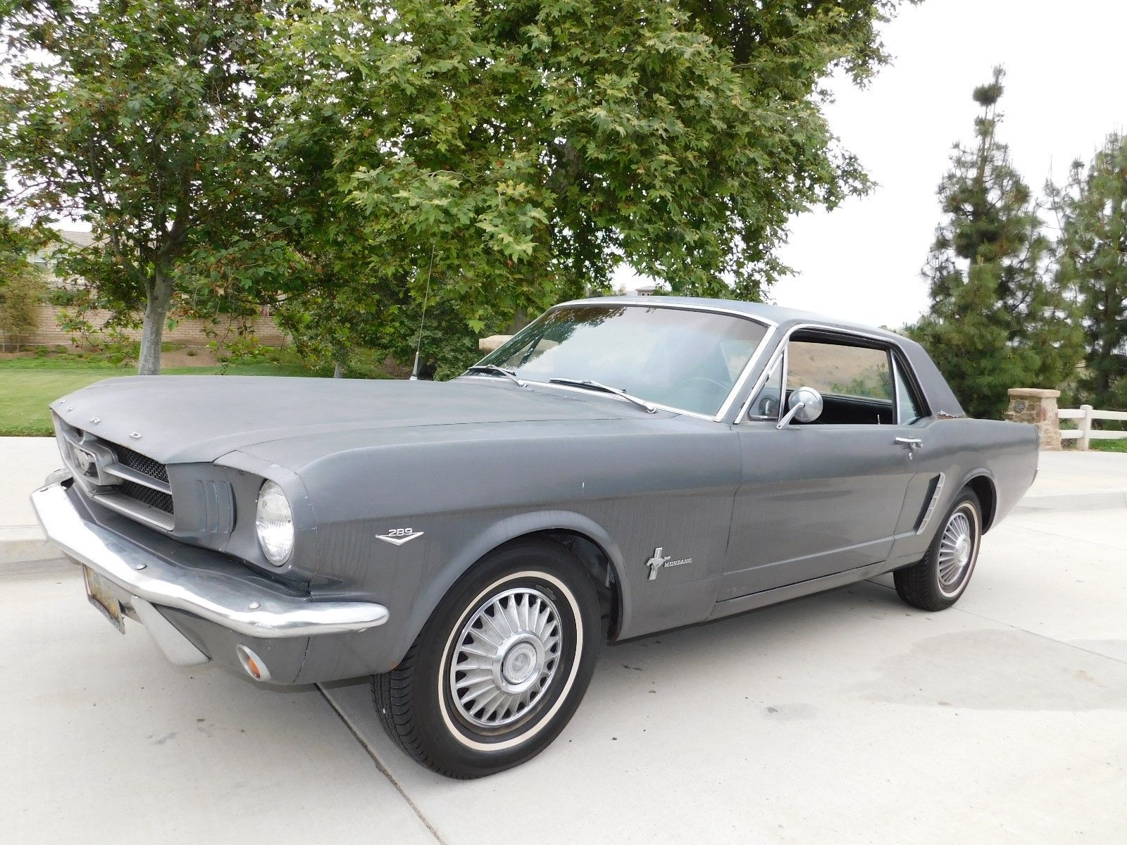 Ebay 1965 ford mustang coupe 1965 ford mustang coupe no reserve mustang fastback little brother fordmustang ford