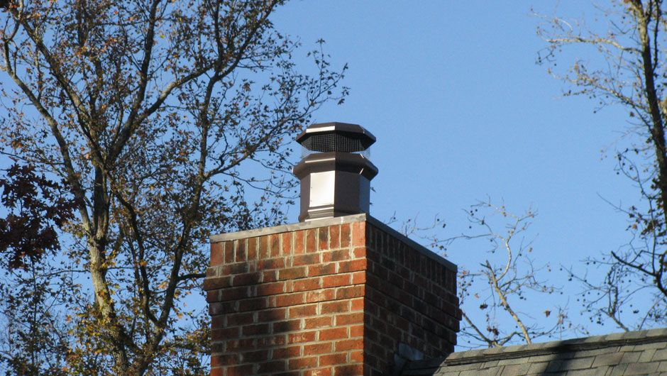 Ele Metal Decorative Chimney Cap From Earthcore: The Portsmouth.