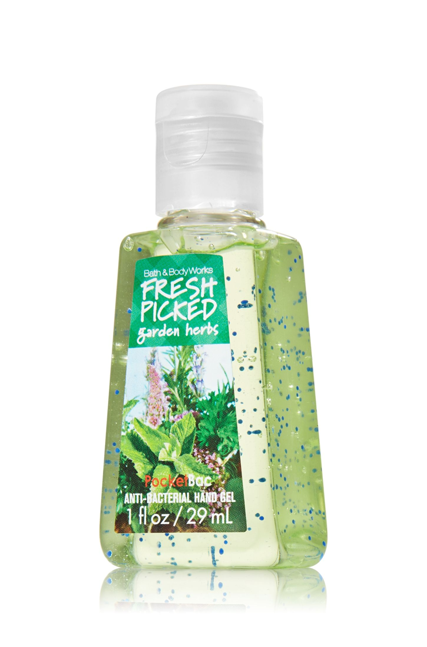 Fresh Picked Garden Herbs Pocketbac Sanitizing Hand Gel Anti